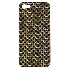 Sparkling Metal Chains 01a Apple Iphone 5 Hardshell Case