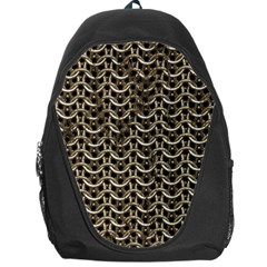 Sparkling Metal Chains 01a Backpack Bag