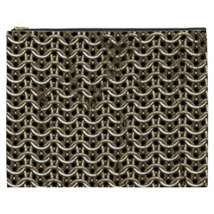 Sparkling Metal Chains 01a Cosmetic Bag (xxxl)