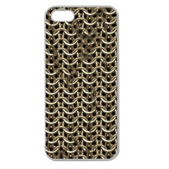 Sparkling Metal Chains 01a Apple Seamless Iphone 5 Case (clear)
