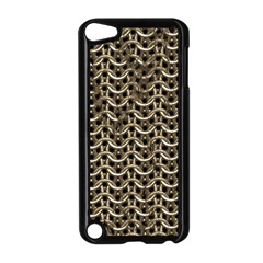 Sparkling Metal Chains 01a Apple Ipod Touch 5 Case (black)
