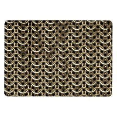 Sparkling Metal Chains 01a Samsung Galaxy Tab 10 1  P7500 Flip Case