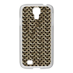 Sparkling Metal Chains 01a Samsung Galaxy S4 I9500/ I9505 Case (white)
