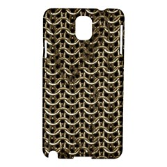 Sparkling Metal Chains 01a Samsung Galaxy Note 3 N9005 Hardshell Case