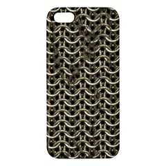 Sparkling Metal Chains 01a Iphone 5s/ Se Premium Hardshell Case