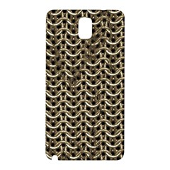 Sparkling Metal Chains 01a Samsung Galaxy Note 3 N9005 Hardshell Back Case