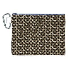 Sparkling Metal Chains 01a Canvas Cosmetic Bag (xxl)