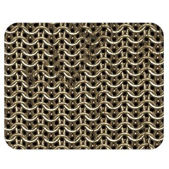 Sparkling Metal Chains 01a Double Sided Flano Blanket (medium)
