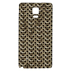 Sparkling Metal Chains 01a Galaxy Note 4 Back Case
