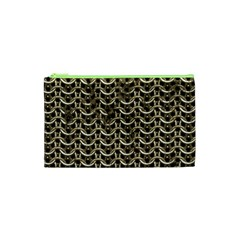 Sparkling Metal Chains 01a Cosmetic Bag (xs)