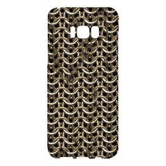 Sparkling Metal Chains 01a Samsung Galaxy S8 Plus Hardshell Case