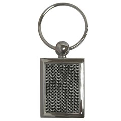 Sparkling Metal Chains 01b Key Chains (rectangle)
