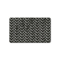Sparkling Metal Chains 01b Magnet (name Card)