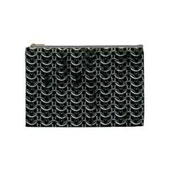 Sparkling Metal Chains 01b Cosmetic Bag (medium)