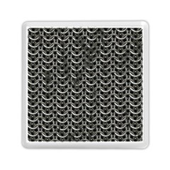 Sparkling Metal Chains 01b Memory Card Reader (square)