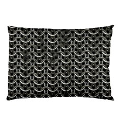 Sparkling Metal Chains 01b Pillow Case (two Sides)