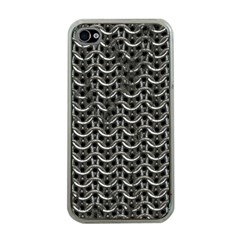 Sparkling Metal Chains 01b Apple Iphone 4 Case (clear)
