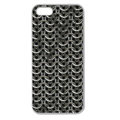 Sparkling Metal Chains 01b Apple Seamless Iphone 5 Case (clear)