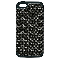 Sparkling Metal Chains 01b Apple Iphone 5 Hardshell Case (pc+silicone)