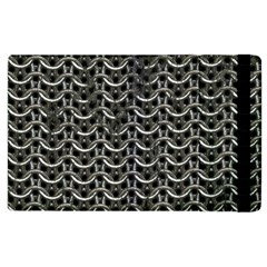 Sparkling Metal Chains 01b Apple Ipad 3/4 Flip Case