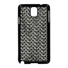 Sparkling Metal Chains 01b Samsung Galaxy Note 3 Neo Hardshell Case (black)