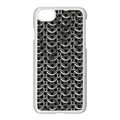 Sparkling Metal Chains 01b Apple Iphone 7 Seamless Case (white)