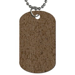 Sparkling Metal Chains 02a Dog Tag (one Side)