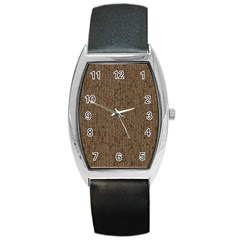 Sparkling Metal Chains 02a Barrel Style Metal Watch