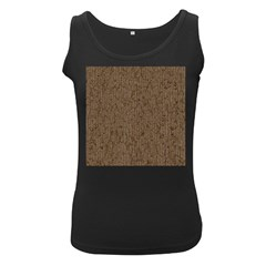 Sparkling Metal Chains 02a Women s Black Tank Top