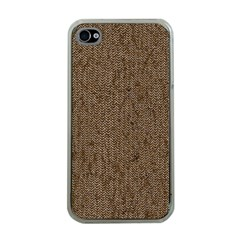 Sparkling Metal Chains 02a Apple Iphone 4 Case (clear)