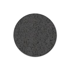 Sparkling Metal Chains 02b Rubber Round Coaster (4 Pack)