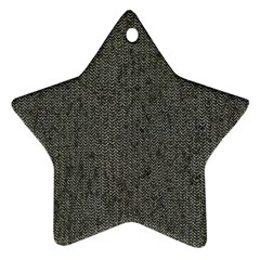 Sparkling Metal Chains 02b Star Ornament (two Sides)