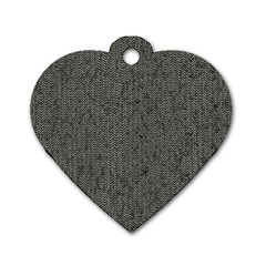 Sparkling Metal Chains 02b Dog Tag Heart (one Side)