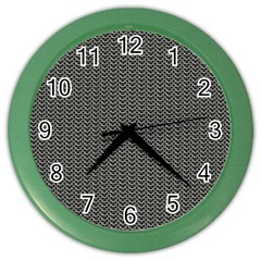 Sparkling Metal Chains 03a Color Wall Clocks