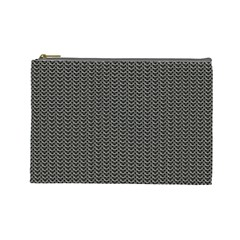 Sparkling Metal Chains 03a Cosmetic Bag (large)