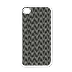Sparkling Metal Chains 03a Apple Iphone 4 Case (white)