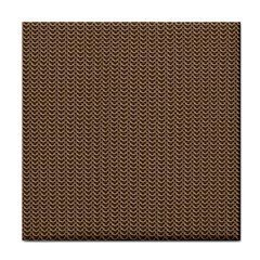 Sparkling Metal Chains 03b Tile Coasters