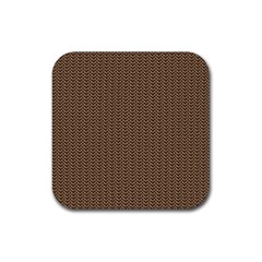 Sparkling Metal Chains 03b Rubber Coaster (square)