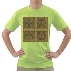 Seamless Pattern Design Texture Green T Shirt