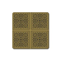 Seamless Pattern Design Texture Square Magnet