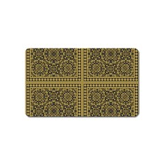 Seamless Pattern Design Texture Magnet (name Card)