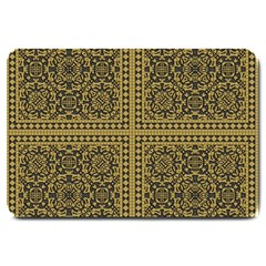Seamless Pattern Design Texture Large Doormat