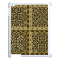 Seamless Pattern Design Texture Apple Ipad 2 Case (white)