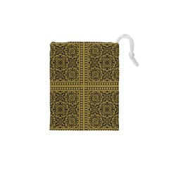 Seamless Pattern Design Texture Drawstring Pouches (xs)