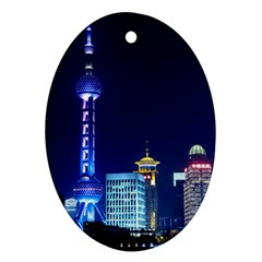 Shanghai Oriental Pearl Tv Tower Ornament (oval)