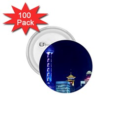 Shanghai Oriental Pearl Tv Tower 1 75  Buttons (100 Pack)