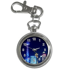 Shanghai Oriental Pearl Tv Tower Key Chain Watches