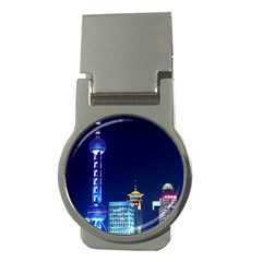 Shanghai Oriental Pearl Tv Tower Money Clips (round)
