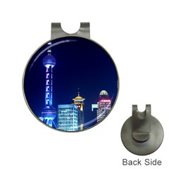 Shanghai Oriental Pearl Tv Tower Hat Clips With Golf Markers