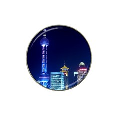 Shanghai Oriental Pearl Tv Tower Hat Clip Ball Marker (4 Pack)